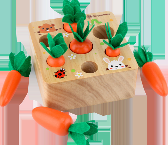 Goryeo Baby - Harvest Carrots Game