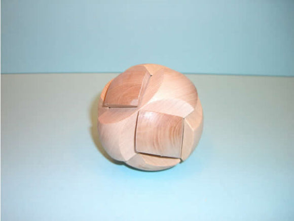 3D Wood Puzzle - Football