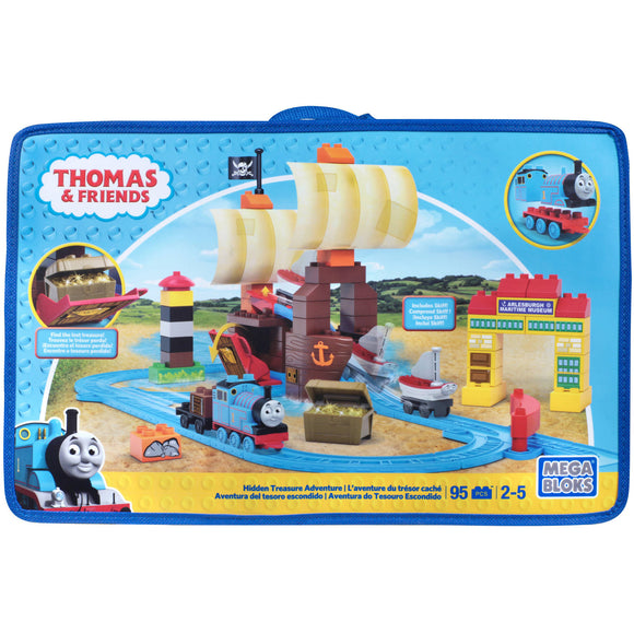 Mega Bloks - Thomas Sodor's Legend of the Lost Treasure (95PCS)