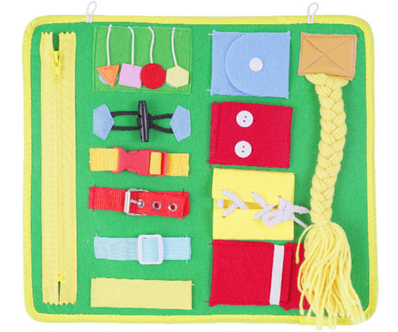 Learn to Dress Activity Board