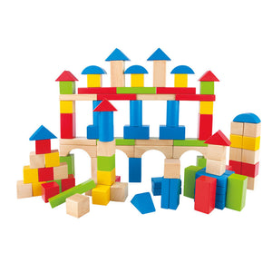 Hape - Maple Blocks 100 pcs. Set