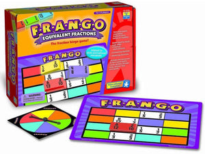 F-R-A-N-G-O - Equivalency Fraction Bingo