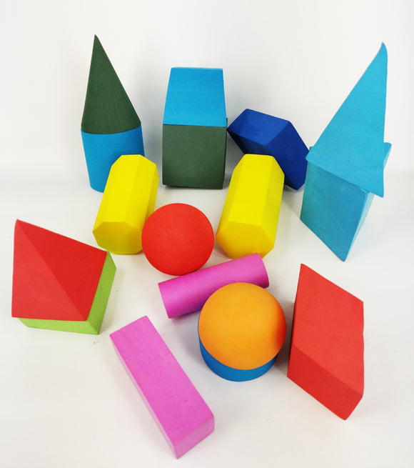 EVA Geometric Solids, Set of 17
