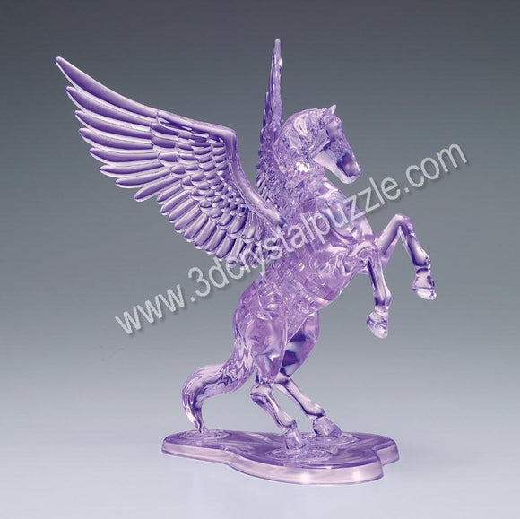 3D Crystal Puzzle - Flying Horse