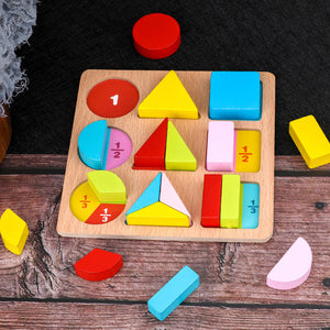 Fraction Geometric Sorting Board