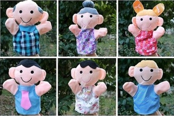 My Family - Hand Puppets (6 pcs)