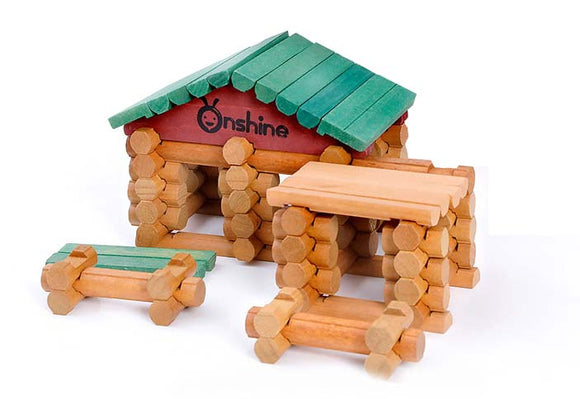 Onshine - Wooden Puzzle House Set