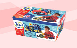 Junior Engineer Magic Gears - 62 pcs