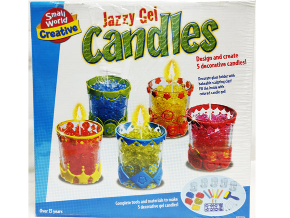 Jazzy Gel Candles