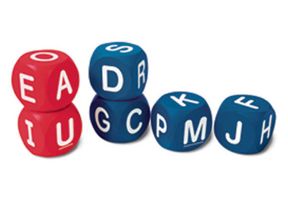 Soft Foam Uppercase Alphabet Cubes