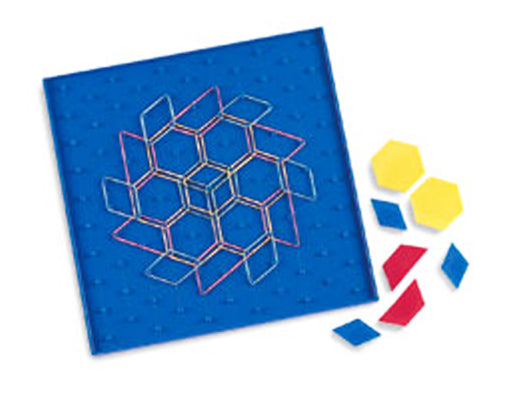 Two-Sided Pattern Array Block Geoboard