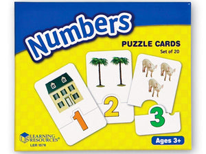 Numbers Puzzle Cards