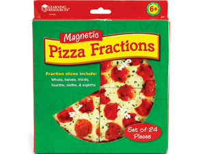 Magnetic Pizza Fraction