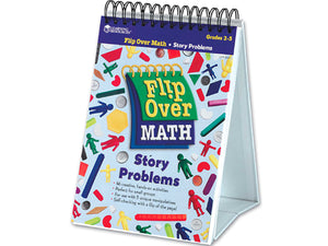 Flip Over Math Activity Book - Story Problems