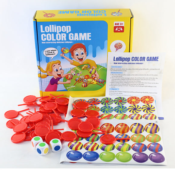 Lollipop Color Game