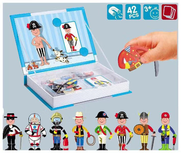 Magnetic Puzzle - Dress-up