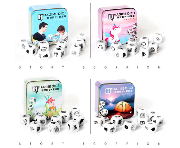 Imagination Dice (9 pcs)
