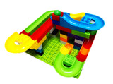 Me100fun Construction Blocks - Marble Run (75pcs)