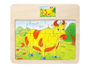 Small Scale Puzzle - COW