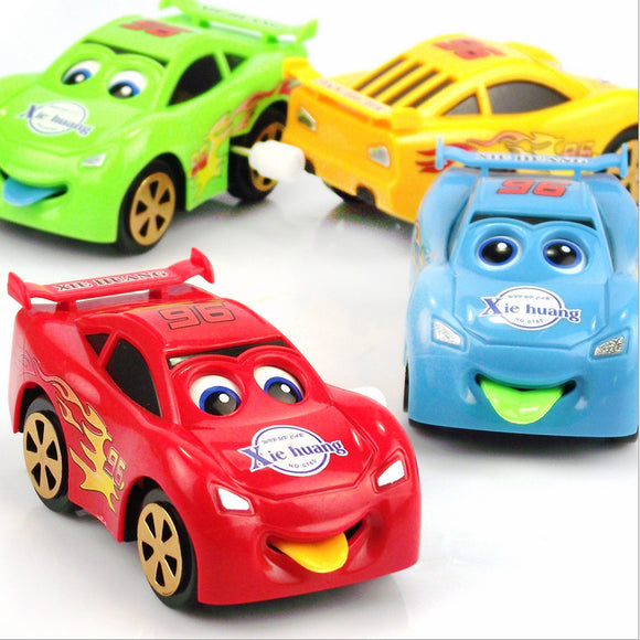 Wind-up Car with Tongue out