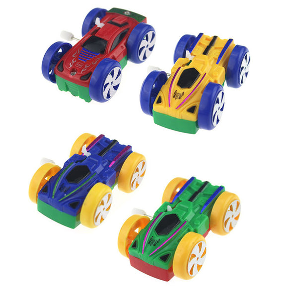Wind-up Two-sides Flip Car