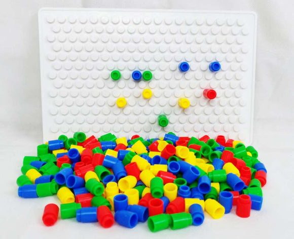 Me100fun Construction Blocks - Mosaic Stacking