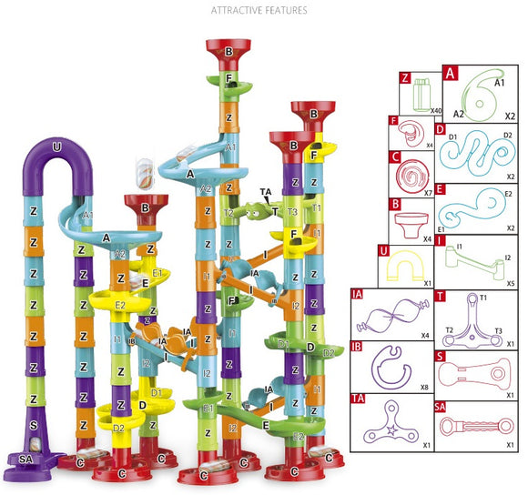 New Marble Run PipeLine Game