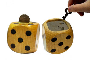 Save Bring Prosperity(Wooden Dice Money Bank)
