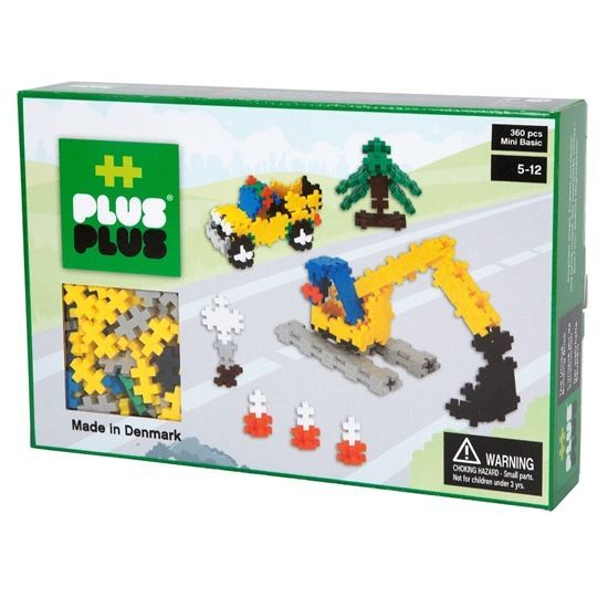 PLUS PLUS - Mini Basic 360 Pcs - Road Work
