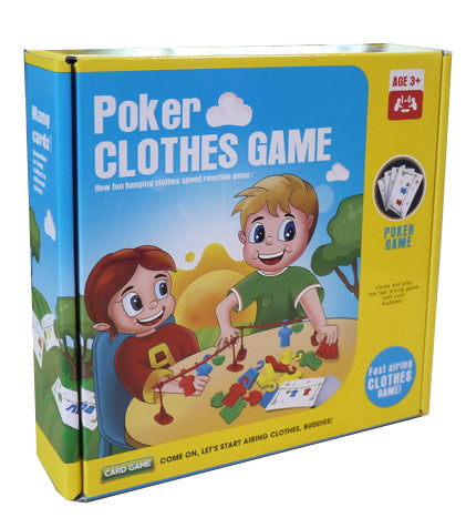 Poker Clothes Game