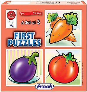First Puzzles - Vegetables