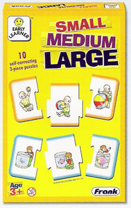 Early Learner - Small, Medium, Large