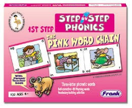 Step by Step Phonic 1st - Pink Word Chain