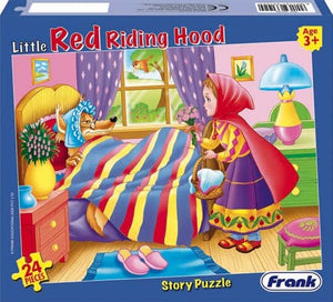 24 PCS Puzzle - Red Riding Hood