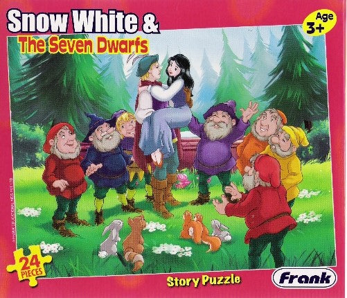 24 pcs Puzzle - Snow White