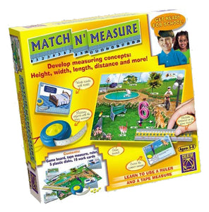 Get ready for school - Match N' Measure