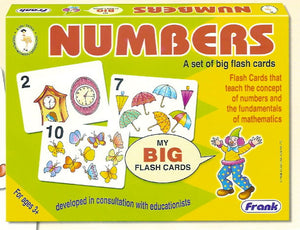 Big Flash Cards - Numbers