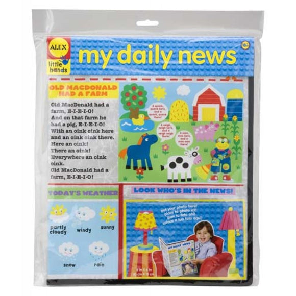 Alex Toys Little Hands My Daily News