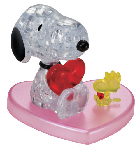 3D Crystal Puzzle - Snoopy & Friends