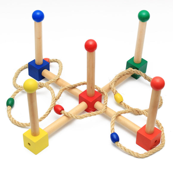 Montessori Ring Toss Game