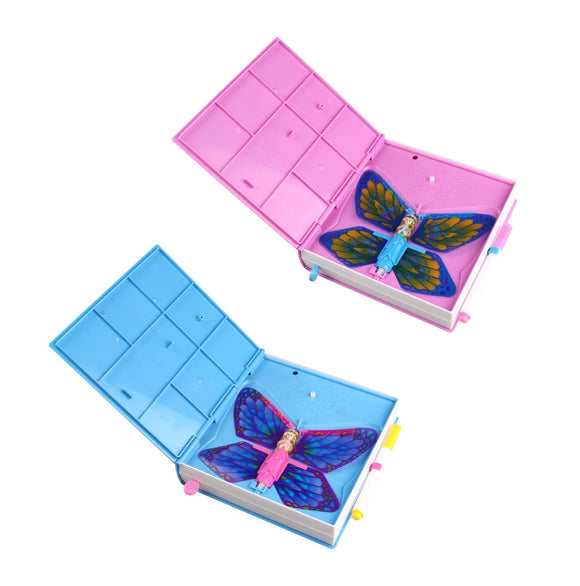 Flutter Surprise Butterfly Diary