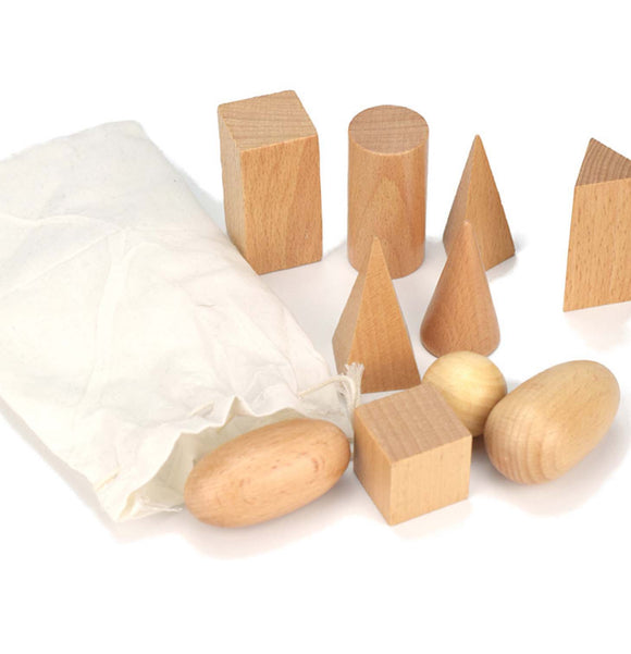 Wooden Shape Block