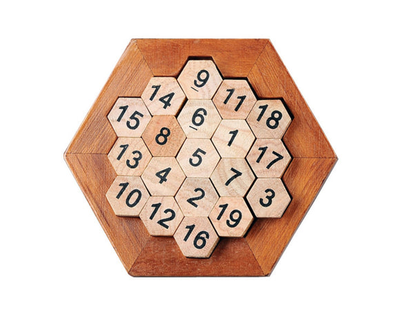 Hexagonal Number Puzzle