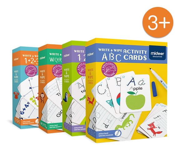 Write & Wipe Activity Card