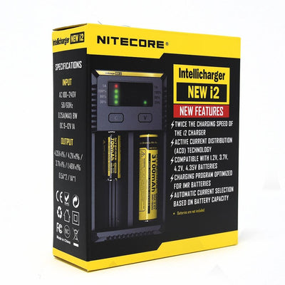 NiteCore i2 Intellicharger - Vapor Rage LLC