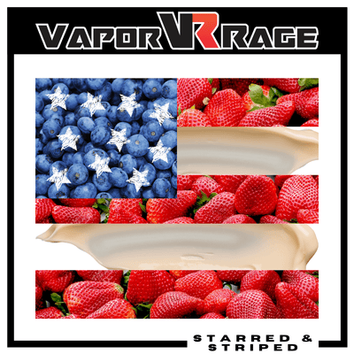 Starred & Striped - Vapor Rage LLC
