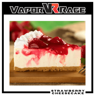 Strawberry Cheesecake - Vapor Rage LLC