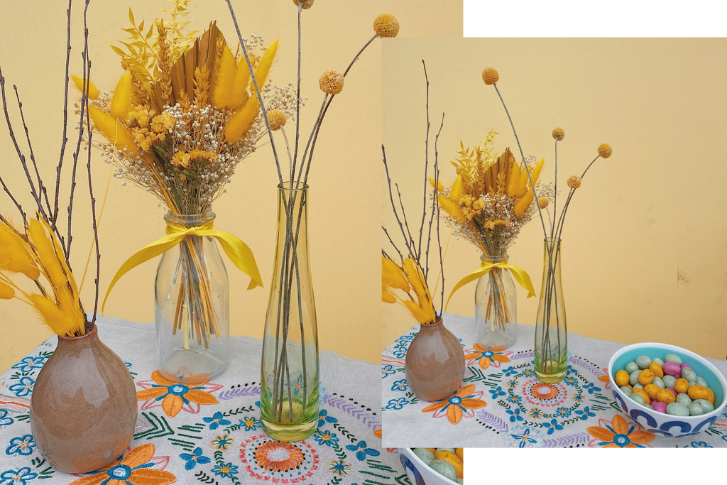 Dried Easter Flowers