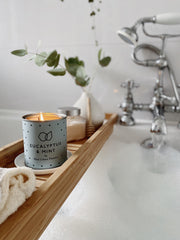 Eucalyptus And Mint Soy Wax Candle UK