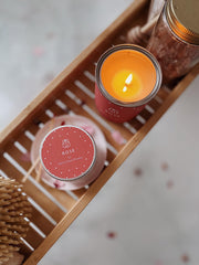 Rose Soy Wax Candle UK